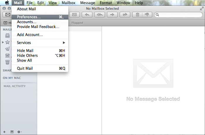 Email Mail 01 Preferences